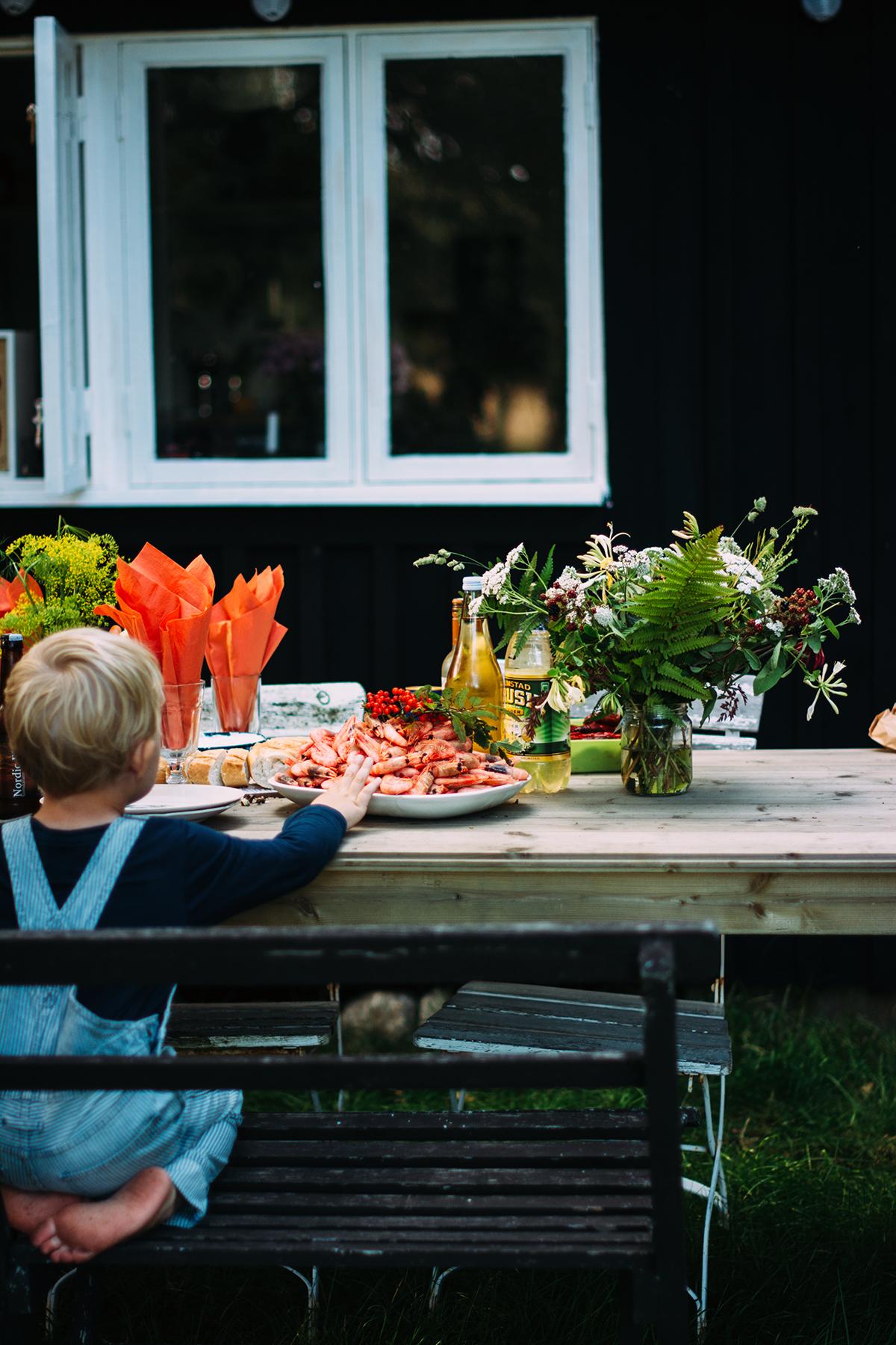 Kräftskiva fotograf Charlotta Lingwall Skåne Helsingborg